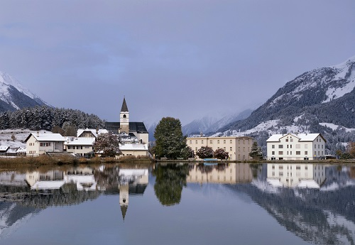 Maison dans les Alpines